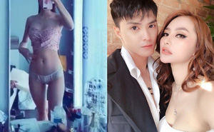 Linh Chi quay clip khoe thân hình sexy, Lâm Vinh Hải có phản ứng thú vị