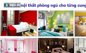 Chọn màu sắc nội thất phòng ngủ như thế nào thì hợp tính cách từng cung hoàng đạo?