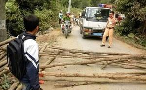 Triệu tập nhóm người có hành vi chặn ô tô CSGT đòi lại xe vi phạm ở Sơn La