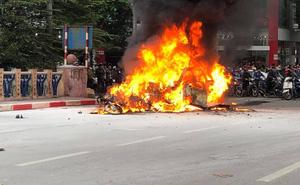 Xác định danh tính cô gái tử vong trong vụ xe Mercedes gây tai nạn rồi bốc cháy