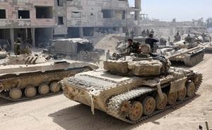 Liều lĩnh mở đợt tấn công khốc liệt vào quân đội Syria, khủng bố chết như ngả rạ