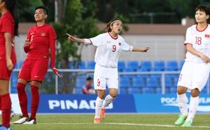[Kết thúc] Việt Nam 6-0 Indonesia: Tuyết Dung cứa lòng tinh tế đánh bại thủ môn Indonesia