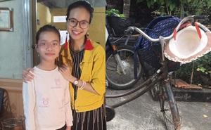 Cô bé Hải Dương đạp chiếc xe cà tàng sang nhà bạn chơi, 1km thành 60km lạc tới Hà Nội