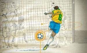 Khoa học giải thích cú sút phạt không tưởng của Roberto Carlos năm 1997