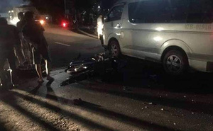 Va chạm với xe ô tô, một sĩ quan quân đội thiệt mạng