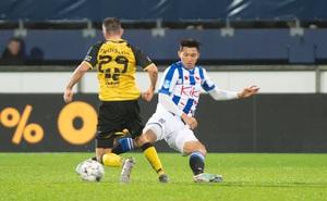 """Heerenveen nhận tin """"kém vui"""", cơ hội ra sân của Đoàn Văn Hậu dễ bị ảnh hưởng"""
