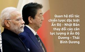 """Mỹ vướng bận nội bộ, Ấn - Nhật trở thành """"mỏ neo"""" chốt chặn Thái Bình Dương, Ấn Độ Dương"""