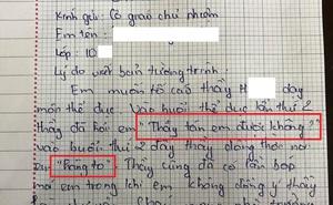 """Thầy giáo nói """"thầy tán em được không"""" với nữ sinh nhận án kỷ luật"""