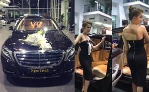 """Chi tiết """"không thể tin nổi"""" bên trong xe ô tô 12 tỷ của Ngọc Trinh"""