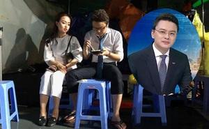 Hình ảnh giản dị, ăn vội vã của MC thời sự nổi tiếng VTV
