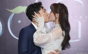 Trấn Thành ôm hôn tình cảm Hari Won giữa đám đông