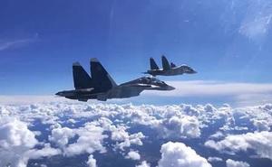 Tiêm kích Israel tiếp tục bỏ chạy khi bị chiến đấu cơ Nga truy kích?