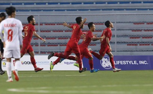 [Kết thúc] U22 Indonesia 4-2 U22 Myanmar: Dimas đặt dấu chấm hết cho Myanmar