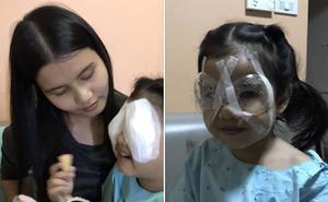 Con gái mới 4 tuổi đã bị mất thị lực suýt mù mắt, ông bố khẩn thiết cảnh báo khiến nhiều phụ huynh giật mình thon thót