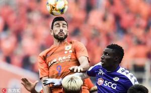 Phung phí, vỡ trận trong hiệp 2, Hà Nội FC đại bại trước đội bóng Trung Quốc