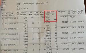 Tiền nước hơn 23,6 triệu/tháng: Nếu kiểm định đồng hồ đúng tôi cũng không đóng tiền ngay