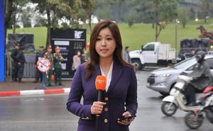 Nữ phóng viên Hàn gây sốt mạng xã hội Việt: Xinh đẹp tài năng, từng thi Hoa hậu
