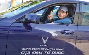 """Dàn sao Việt """"rủ"""" nhau thẳng tiến Hà Giang, ai cũng tự hào vì được lái VinFast"""