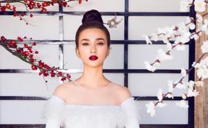 Kim Tuyến quyến rũ, xinh đẹp khi diện áo dài cách tân