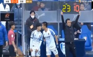 Suwon 3-1 Incheon: Công Phượng ghi dấu ấn đậm nét dù đội nhà vẫn thua