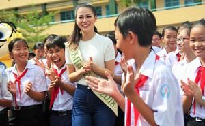 """Bảng điểm học lớp 12 của """"Hoa hậu trái đất"""" Phương Khánh"""