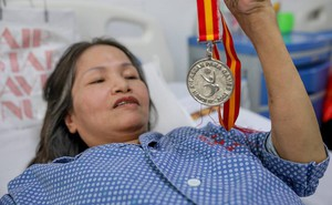 """Hà Nội: Đau lòng nữ vận động viên khuyết tật """"vật lộn"""" với bệnh ung thư, mong chờ phép màu"""