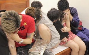 17 thanh niên nam nữ dương tính với ma tuý trong hai phòng nhà nghỉ ở miền Tây