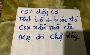 Người mẹ và những mảnh giấy viết tay gửi cho con khiến ai cũng rưng rưng muốn về nhà