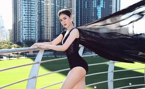 Á hậu Lý Kim Thảo bị cháy da khi chụp hình suốt 5 tiếng dưới trời nắng