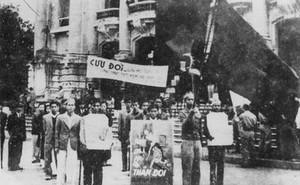 Sau cách mạng tháng 8, nước ta đối diện nhiều khó khăn: Cả giặc đói lẫn giặc dốt