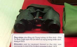 Chiếc ống nhòm của Đại tướng Lê Đức Anh