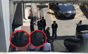 Đón nhân vật bí ẩn của Triều Tiên ở sân bay, TQ giăng ô đen quanh phòng VIP để làm gì?