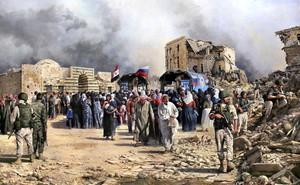 """Nga """"bủa lưới, phóng lao"""": Phiến quân, Thổ Nhĩ Kỳ và phương Tây như """"cá trên thớt"""" ở Hama"""