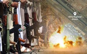 Houthi tấn công sân bay Abha ở Arab Saudi, 9 người thương vong