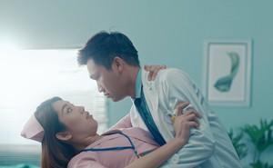 Xuân Nghị, Thúy Ngân diễn cảnh tình cảm trong phim mới