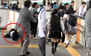 Nữ sinh Nhật Bản bị doanh nhân 30 tuổi sờ ngực tại tàu điện ngầm và cái kết bất ngờ dành cho kẻ biến thái