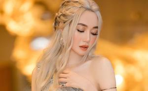 """Elly Trần đẹp rạng rỡ, hóa thân thành """"Mẹ Rồng"""" trong Game of Thrones"""