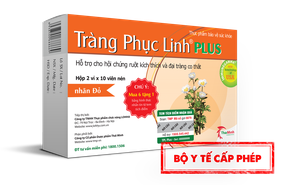 Tràng Phục Linh Plus - Đột phá mới hỗ trợ điều trị viêm đại tràng co thắt của người Việt
