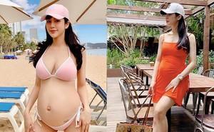 """Diệp Lâm Anh mang bầu lần 2: Sống sang chảnh, """"nghiện"""" chụp ảnh bikini nóng bỏng"""