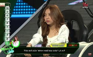 Bạn gái cầu thủ Quang Hải bị chê thiếu kiến thức khi tham gia chương trình truyền hình