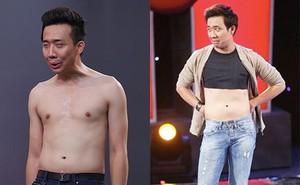 Những lần cởi áo khoe bụng hài hước của MC Trấn Thành