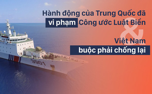 Chuyên gia quốc tế: Việt Nam được luật pháp hỗ trợ, Trung Quốc không có gì ngoài tham vọng và kiêu ngạo