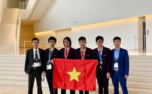 Học sinh Việt Nam đoạt 4 huy chương tại Olympic Tin học quốc tế