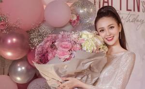 Sinh nhật tràn ngập hoa và bóng bay của Hoa khôi Hải Yến