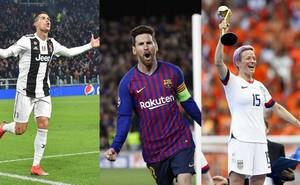 Ai qua mặt nổi Ronaldo và Rapinoe?