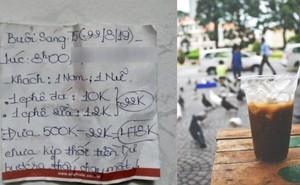 Tá hỏa vì quên lấy gần 500.000 đồng tiền thừa, chàng shipper ngỡ ngàng khi đọc được mảnh giấy chủ quán để lại