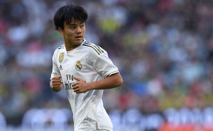 'Messi Nhật' chính thức bị 'bật bãi' khỏi Real Madrid