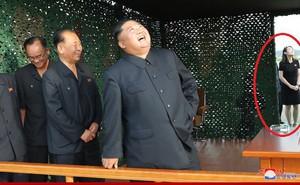 Em gái ông Kim Jong Un xuất hiện công khai tại khu vực thử nghiệm vũ khí mới: Vị thế tiếp tục nâng cao?