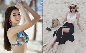 Cận cảnh vẻ xinh đẹp, gợi cảm của Á hậu 2 Hoa hậu Thế giới Việt Nam Nguyễn Tường San