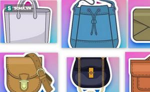 Bí mật con gái: Khám phá tính cách nàng qua kiểu túi nàng đeo hàng ngày
